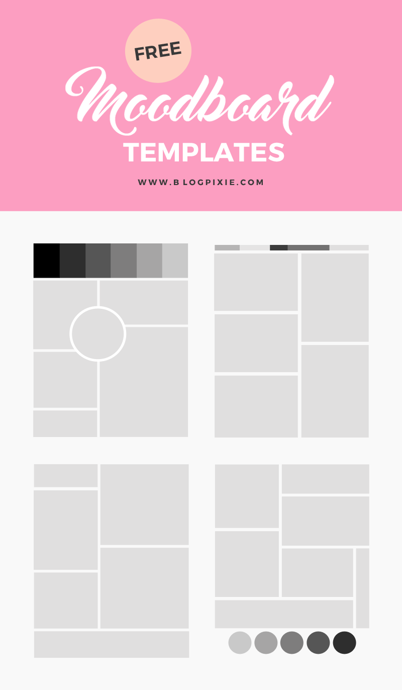 how to create a moodboard blog pixie. Black Bedroom Furniture Sets. Home Design Ideas