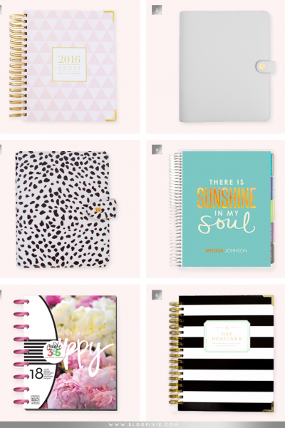 The Best Planners Of 2016
