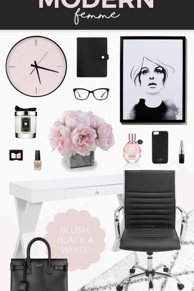 Office Decor Inspiration | Modern Femme