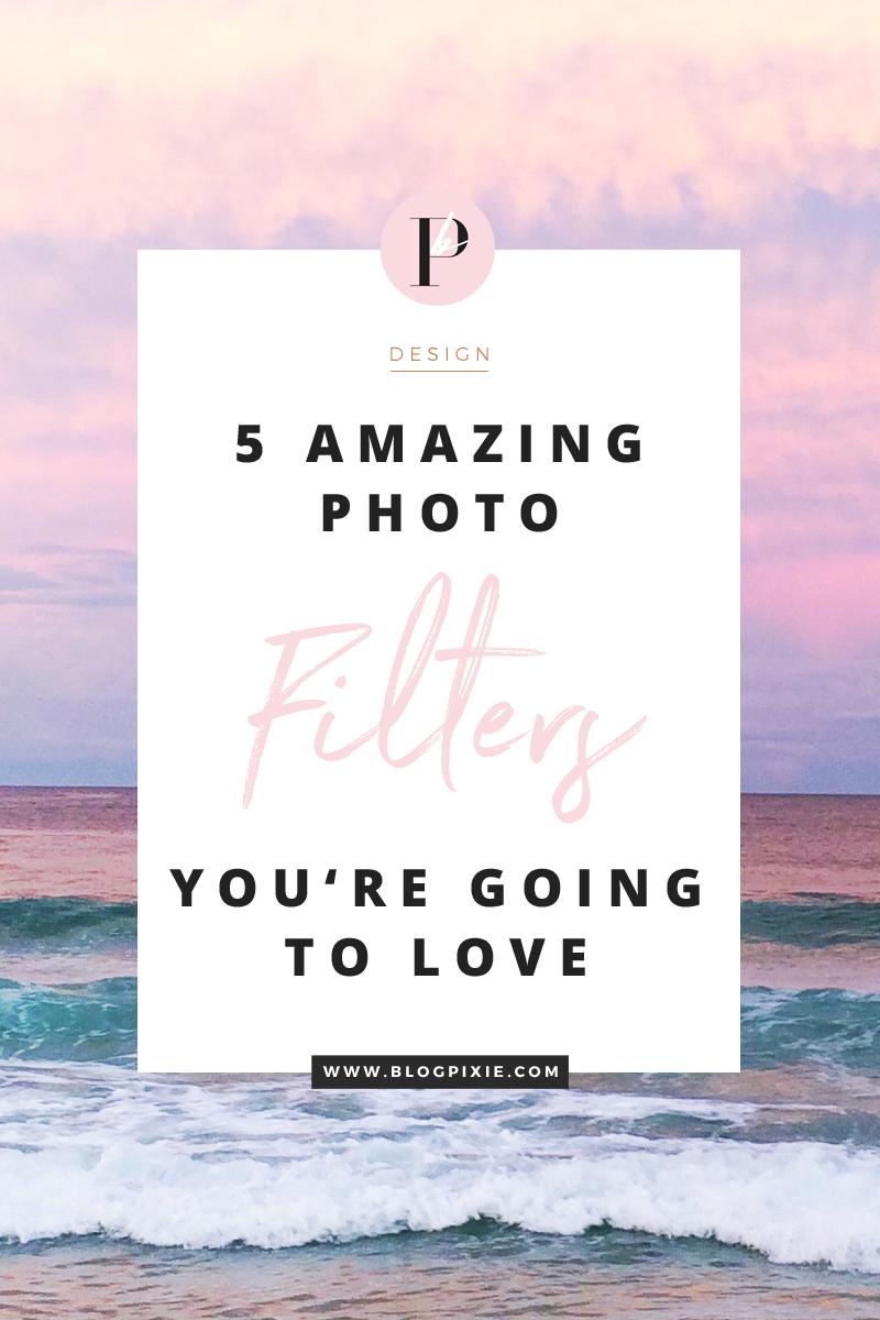 best photo filters instagram blogging