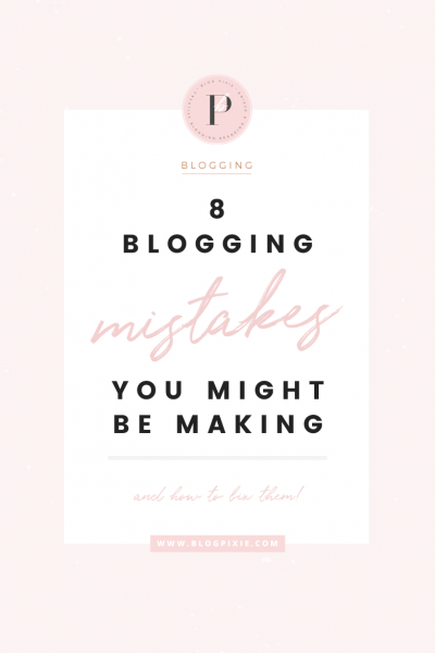 Blogging Tips For Beginners – Mistakes You Might Be Making