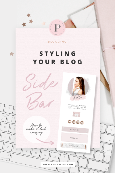 Styling Your Blog Side Bar