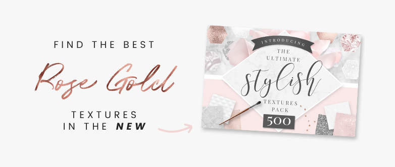How To Create Rose Gold Text Tutorial ☆ Blog Pixie