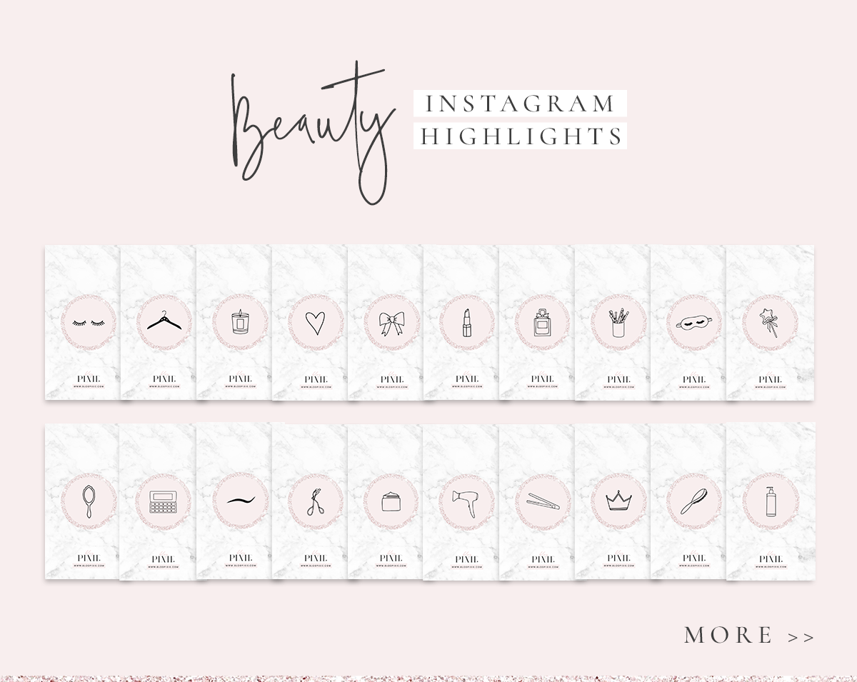 Instagram Story Highlight Icons Download Pink Beauty