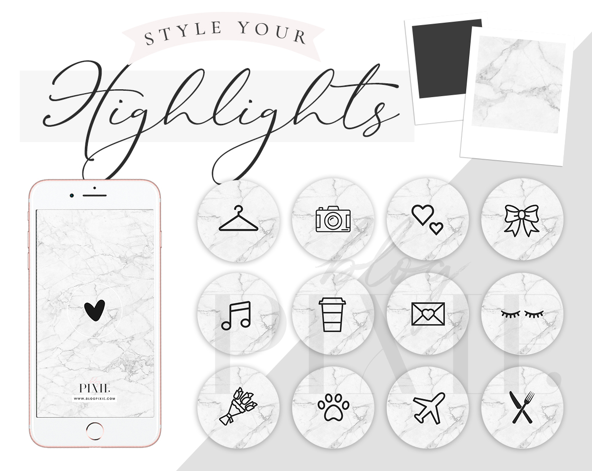 Marble Instagram Highlight Icons Download Instagram Story Covers