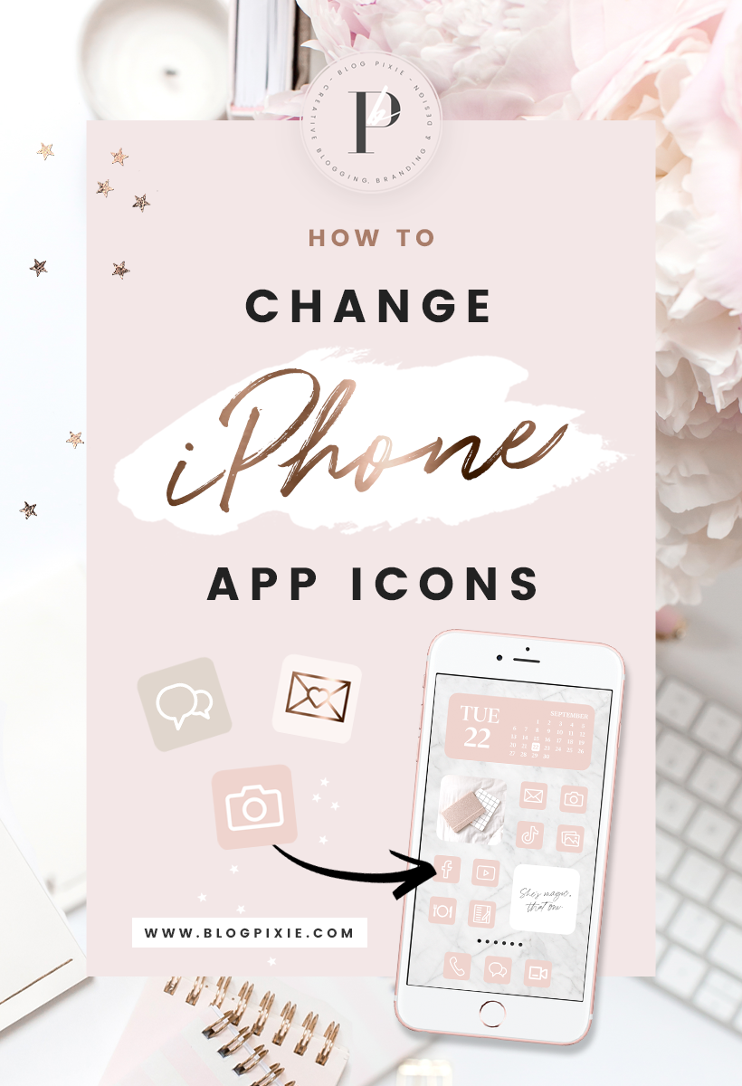 How To Change App Icons App Icon Packs For Aesthetic Ios 14 Iphone