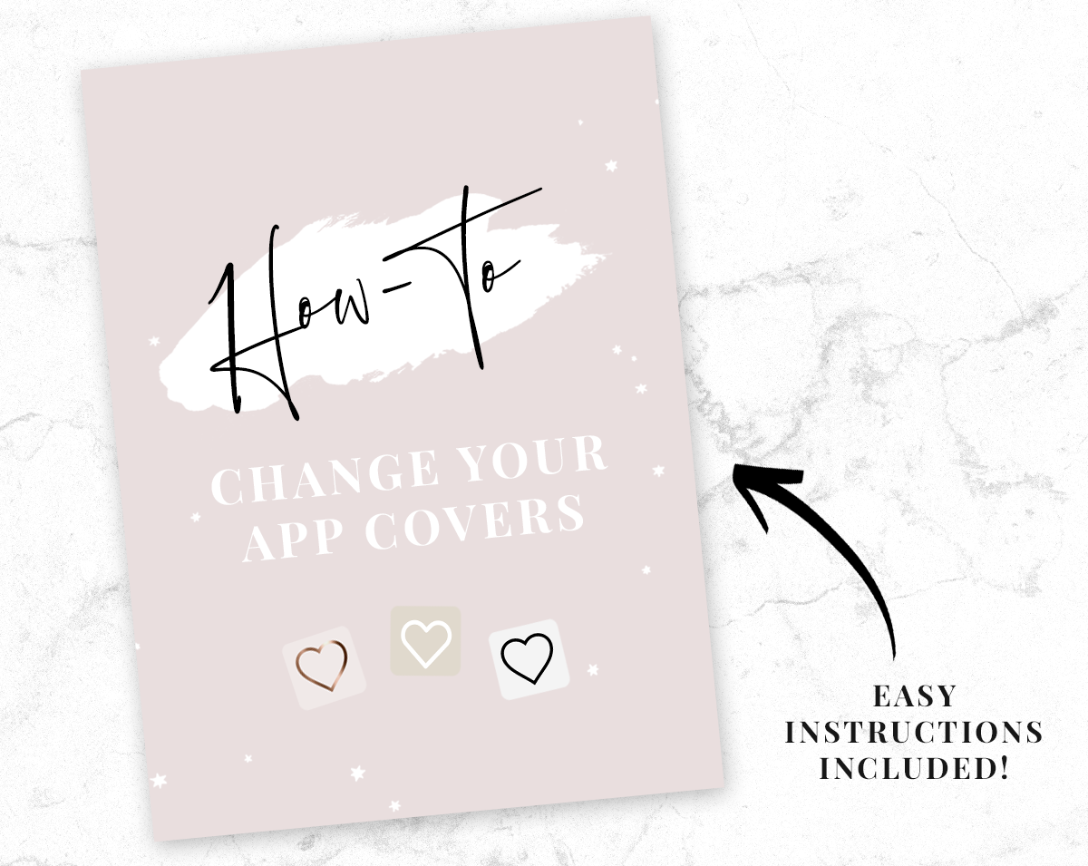 Beige And White App Icons Ios 14 Aesthetic App Covers Blog Pixie